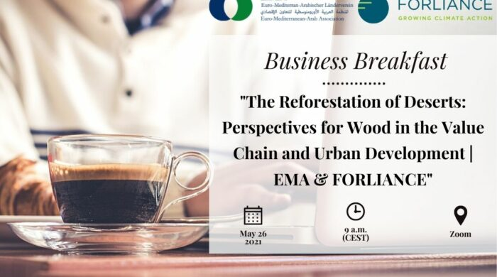 Business Breakfast Forliance Reforestation Banner